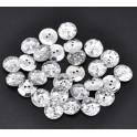Nasturi argintii rotunzi mici