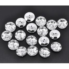 Nasturi argintii rotunzi mijlocii