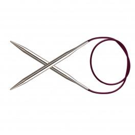 KnitPro Nova Metal - andrele fixe 100 cm