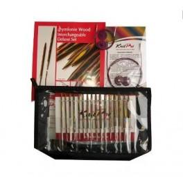KnitPro Symfonie Wood - set andrele interschimbabile Deluxe
