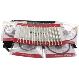 KnitPro Nova Metal - set andrele interschimbabile Deluxe