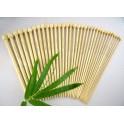 Set 17 andrele drepte bambus 34 cm