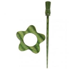 KnitPro Misty Green Garnet