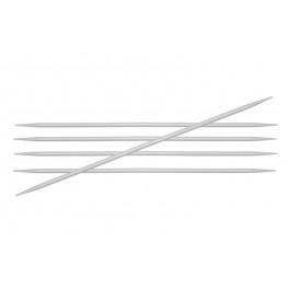KnitPro Basix Aluminium - andrele sosete 20 cm