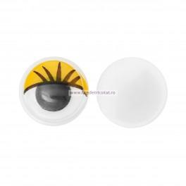 Ochi miscatori 10 mm galbeni - set 10 buc