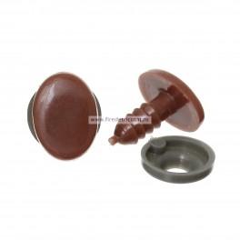 Ochi ovali 14x10 mm - set 10 buc