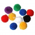Pom-pom 15 mm - set 25 buc