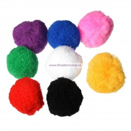 Pom-pom 37 mm - set 10 buc