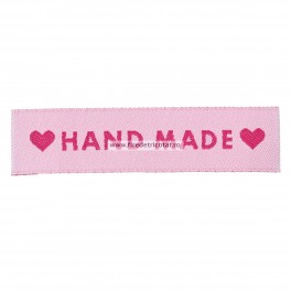 Etichete handmade roz 1