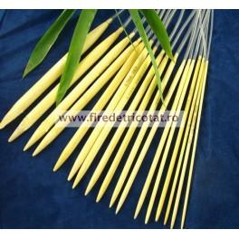 Set 17 andrele circulare bambus 80 cm