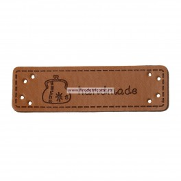 Etichete piele handmade tip 1