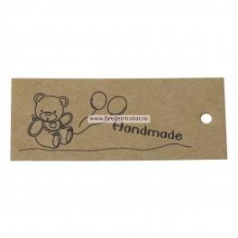 Etichete hartie handmade - set 5 buc