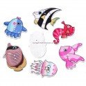 Nasturi lemn animale marine - set 5 buc
