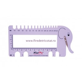 KnitPro masurator andrele elefant mov