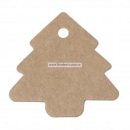 Etichete carton brad - set 5 buc