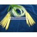 Andrele circulare bambus 80 cm