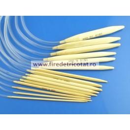 Andrele circulare bambus 40 cm