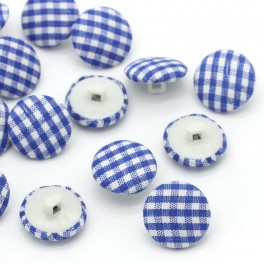 Nasturi plastic-textil cu patratele P2